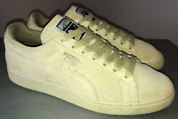 PUMA sz 9.5 Women's Lime Green Suede Athletic Sneakers Shoes