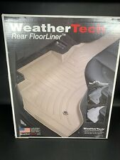 WeatherTech Rear FloorLiner 444832 for Ford Fusion/Lincoln MKZ 2nd Row Black