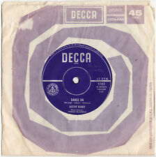 """KATHY KIRBY - DANCE ON  Very rare 1963 Aussie 7"""" BEAT Single Release!"""