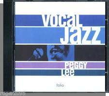 Peggy Lee - Vocal Jazz (2001) - New 18 Song CD! Lots of Capitol Hits!