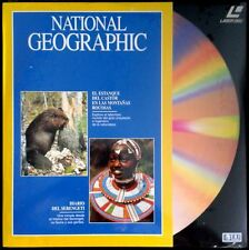 National geographic - the pond of Castor/daily the serengeti-laser disc