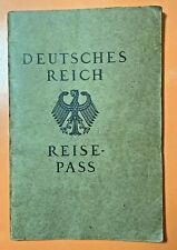 1923 ORIGINAL GERMAN PASSPORT w/ PHOTO DEUTSCHES REICH REISE PASS HANS ECKHARDT