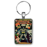 Detective Comics #387 Cover Key Ring / Necklace Batman Robin Joker Penguin Comic