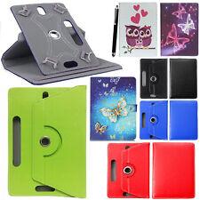 "Lenovo Tab E10 (10.1"") 16GB Tab 360° PU Universal Leather Flip Stand Case Cover"