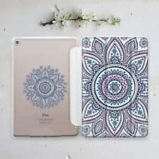 Totem Mandala Case For iPad 9.7 5 6 Gen 10.5 Pro 11.4 12.9 2018 Smart Cover Mini