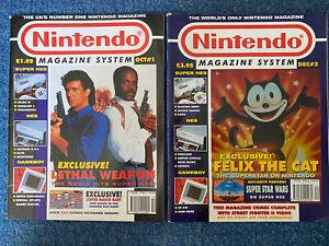 Nintendo Magazine System - Issues 1 & 3