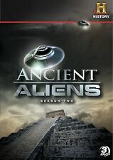 Ancient Aliens:Season 2. Alien Doco Series. 3 Disc Boxset. In Shrink!