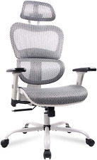 Mesh Office Chair, Ergonomic Desk Chair Technical Task Swivel Chair Executive