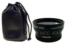 52MM Bower 0.45x Wide Angle W/ Removable Macro 4 Nikon D3100 D3200 D5100 D5200