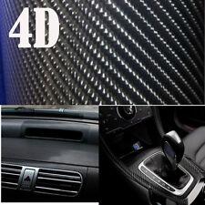 4D Hoch Aufkleber Carbon Auto Folie schwarz mit Luftkanäle Car Wrap Lackschutz