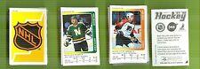 1991-92 Panini Hockey Complete Sticker Set Mint + Album