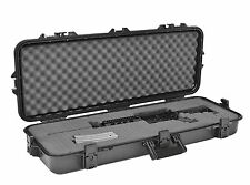 Plano Arms Gun Case Storage Box Waterproof Hard Shell AR-15 Rifle Hunting Safety