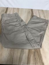 Duluth Trading Firehose Cargo Canvas Carpenter Pants 41x32 [42x32 tag]