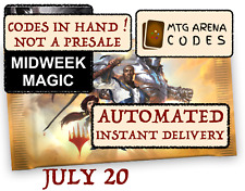 MTG Arena code card FNM / Midweek Magic Promo Pack JULY 20 - INSTANT EMAIL