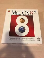 Brand New, Factory Sealed in Retail Box Mac OS 8.0 on CD Apple/Macintosh