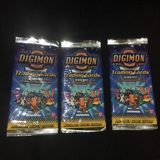 2000 Digimon Season 1 Trading Card Pack Include Extra Silver Holographic 2 packs
