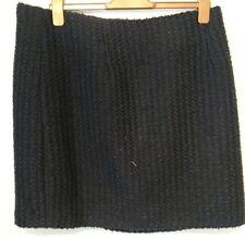 Monsoon Navy Isra Boucle Tweed Short Skirt Size 22 Bnwt Navy Blue Black