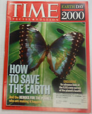 Time Magazine How To Save The Earth Spring 2000 042015R