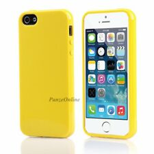 Silicone Bumper Soft Jelly Gel Cover Rubber Skin For iPhone SE 5S 5 Candy Case