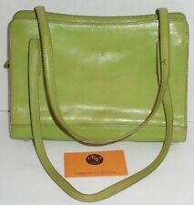MONSAC Original Green Leather Small
