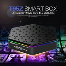 T95Z Plus Android 6.0 NOUGET S912 Octa Core TV Box Bluetooth 4.0 Dual Band Wi-Fi