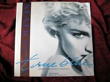 "Madonna TRUE BLUE HOLIDAY 1986 Special GLOSSY COVER 12"" UK Single Vinyl Record"