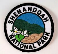 SHENANDOAH NATIONAL PARK  Embroidered Woven Iron/Sew On Patch Travel Souvenir