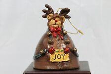Boyds Beary Best Ornaments - Rudy Kringlebell Ornament - Style# 257010