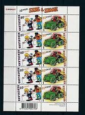 [16621] Netherlands Niederlande 2000 Commics Sjors & Sjimmie MS MNH # 1919-20