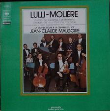 JEAN CLAUDE MALGOIRE LA GRANDE ECURIE&LA CHAMBRE DU ROY LULLI-MOLIERE FRENCH LP