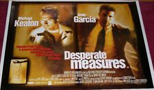 Cinema Poster: DESPERATE MEASURES 1998 (Quad) Michael Keaton Andy Garcia