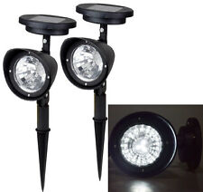 2~ 4-LED Solar Garden Lamp Spot Light Outdoor Lawn Landscape Spotlight Lighting