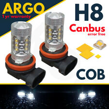 BMW E92 E93 ANGEL EYE HALO RINGS UPGRADE BULBS H8 5000K 80W XENON COB CREE LED