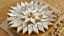 Indian Sweet Kaju Katli Katri Cashew Sweet Fudges Dessert Kaju Barfi