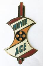 antique ROADMASTER MOVIE ACE Apple Core bicycle HEAD BADGE