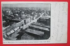 View of Main Street New Lexington Oh Posted Udb Postcard