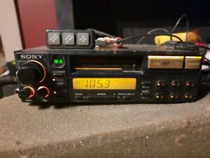 Rare 80s Old School XR747R Sony Car Stereo Cassette Deck Audio Player Vintage