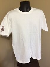 NEW Marlboro Gear White t-shirt Personalized marlboro Compass Emblem & KW sleeve