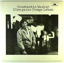 """12"""" LP - Konstantin Wecker - Eine Ganze Menge Leben - D492 - washed & cleaned"""