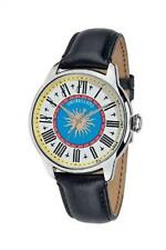 Mens Watch MORELLATO ASTRARIO Monaco SG4003 Leather Black Marien Square Special