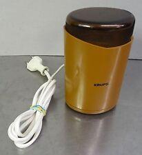 Kultige Kaffeemühle Krups Typ 208 Kaffee Mühle 70er vintage coffee grinder 70's