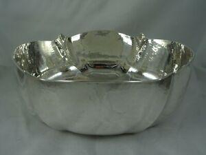 MODERN ITALIAN solid  silver ROSE BOWL,  c2000, 481gm