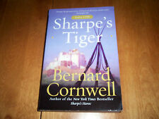 BERNARD CORNWELL SHARPE'S TIGER HISTORICAL SHARPE ADVENTURE TRADE PAPER BOOK