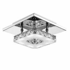 Wanocean 12W LED Crystal Ceiling Light Lamp Fixtures Chandelier Hallway Light