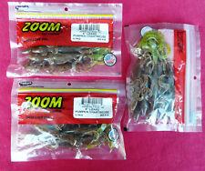 27x Zoom Bait 6-Inch Lizard Bait, Pumpkin Chartruese, 00004000  (Three x Pack of Nine)