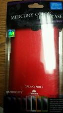 Samsung Galaxy Note 2 - Jelly Rubber Cover Case Red