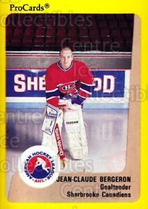 1989-90 ProCards AHL #181 Jean-Claude Bergeron