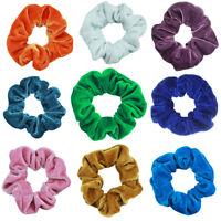 Velvet Hair Bands Ties Rope Scrunchies Ponytail Holder Sport Bathing Hairband AU