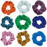 Velvet Hair Bands Ties Rope Scrunchies Ponytail Holder Sport Bathing Hairband AU
