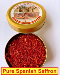 Pure Spanish Saffron 2 GM, The Gathering of Saffron Brand, Kesar
